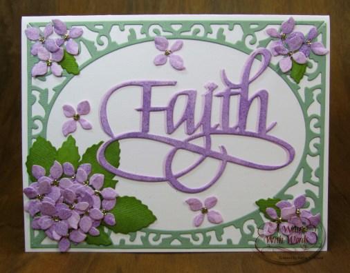 Elizabeth Craft Designs Suzanne Cannon Way with words Faith 2