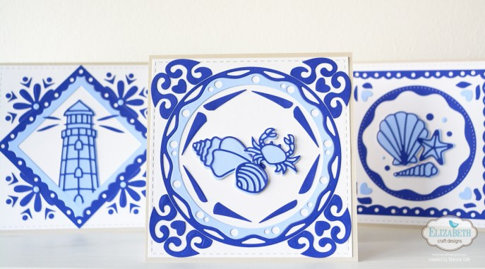Marsha Valk | Elizabeth Craft Designs: Delftware Inspired Cards
