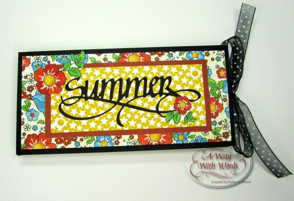 Elizabeth Craft Designs Suzanne Cannon Summer Graphic 45 mini album summer Mother Goose Kathy Jo Wood 1