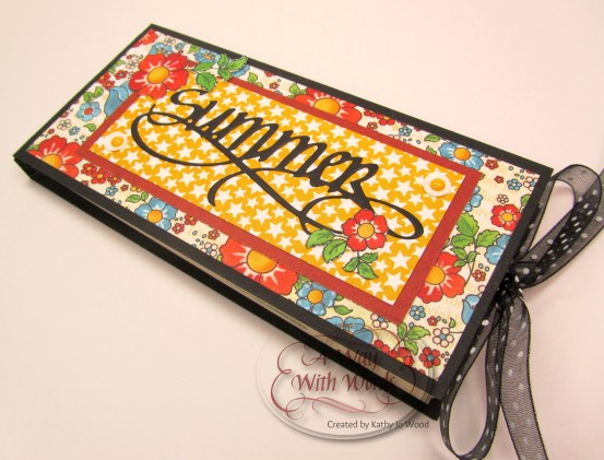 Elizabeth Craft Designs Suzanne Cannon Summer Graphic 45 mini album summer Mother Goose Kathy Jo Wood 12