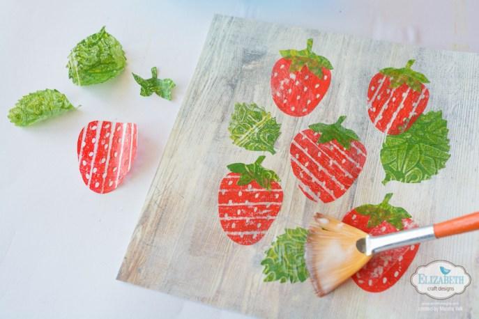 Marsha Valk   Elizabeth Craft Designs: Strawberries Collage