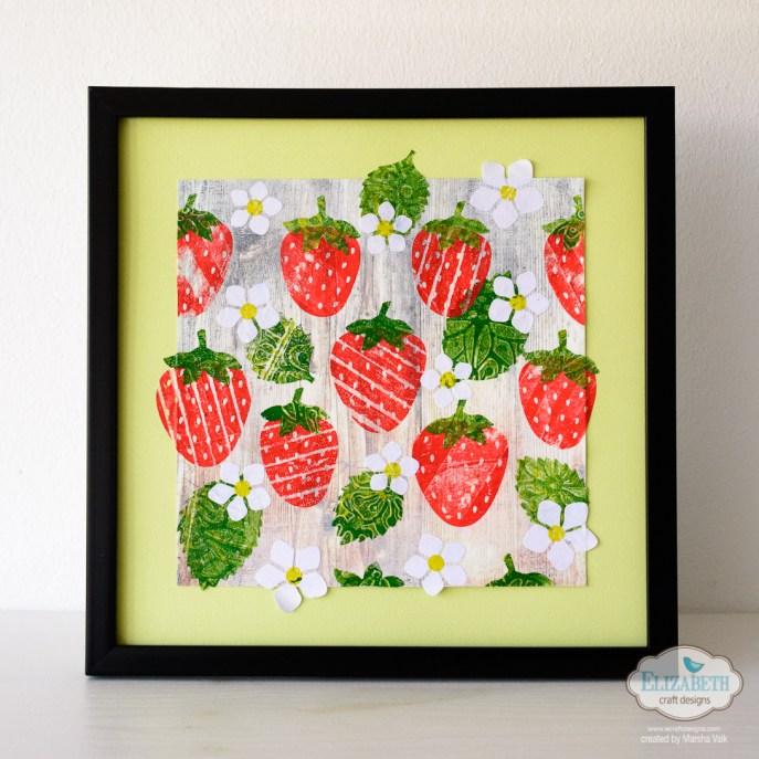Marsha Valk | Elizabeth Craft Designs: Strawberries Collage