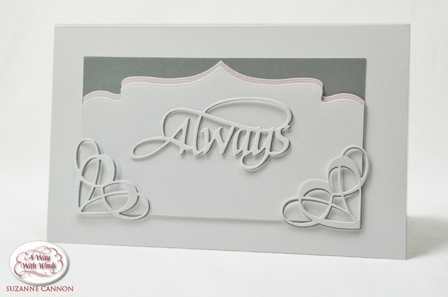 Always Wedding Card by Suzanne Cannon