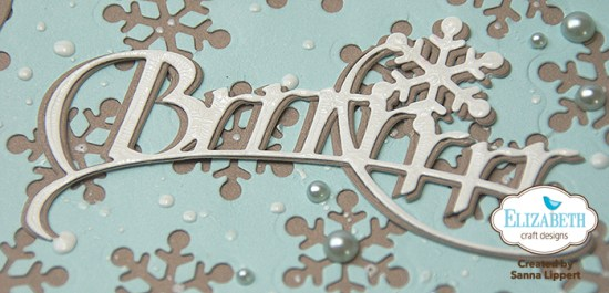 Sanna Lippert - snowflake card