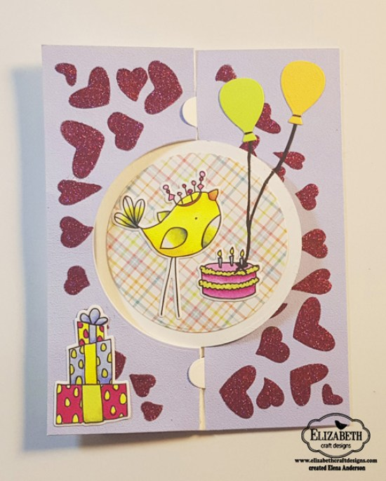 Happy Bird-Day Card - Front