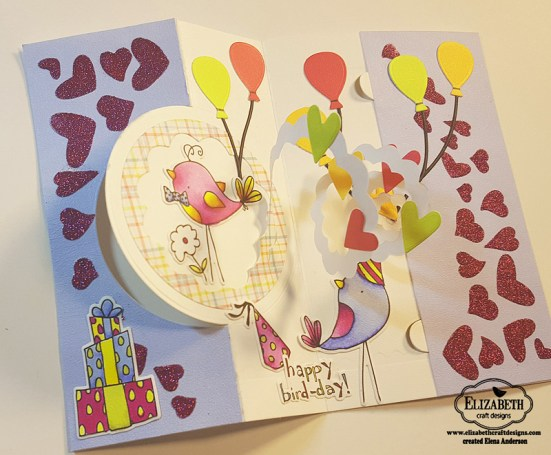 Happy Bird-Day Card -Inside