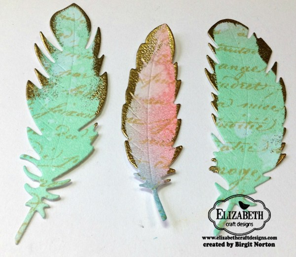 Feather Finery 3 by Birgit