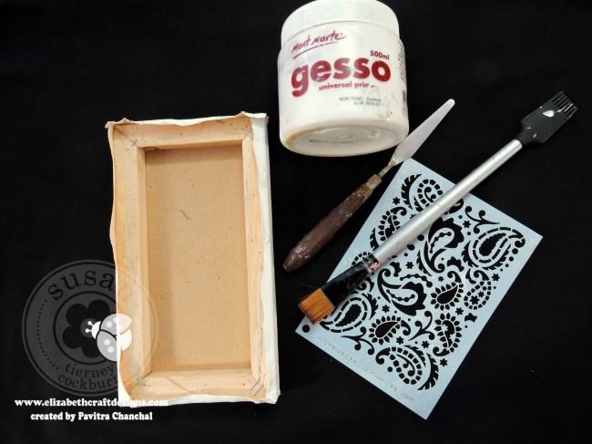Reverse Canvas Garden Notes Gerbera Daisy 2