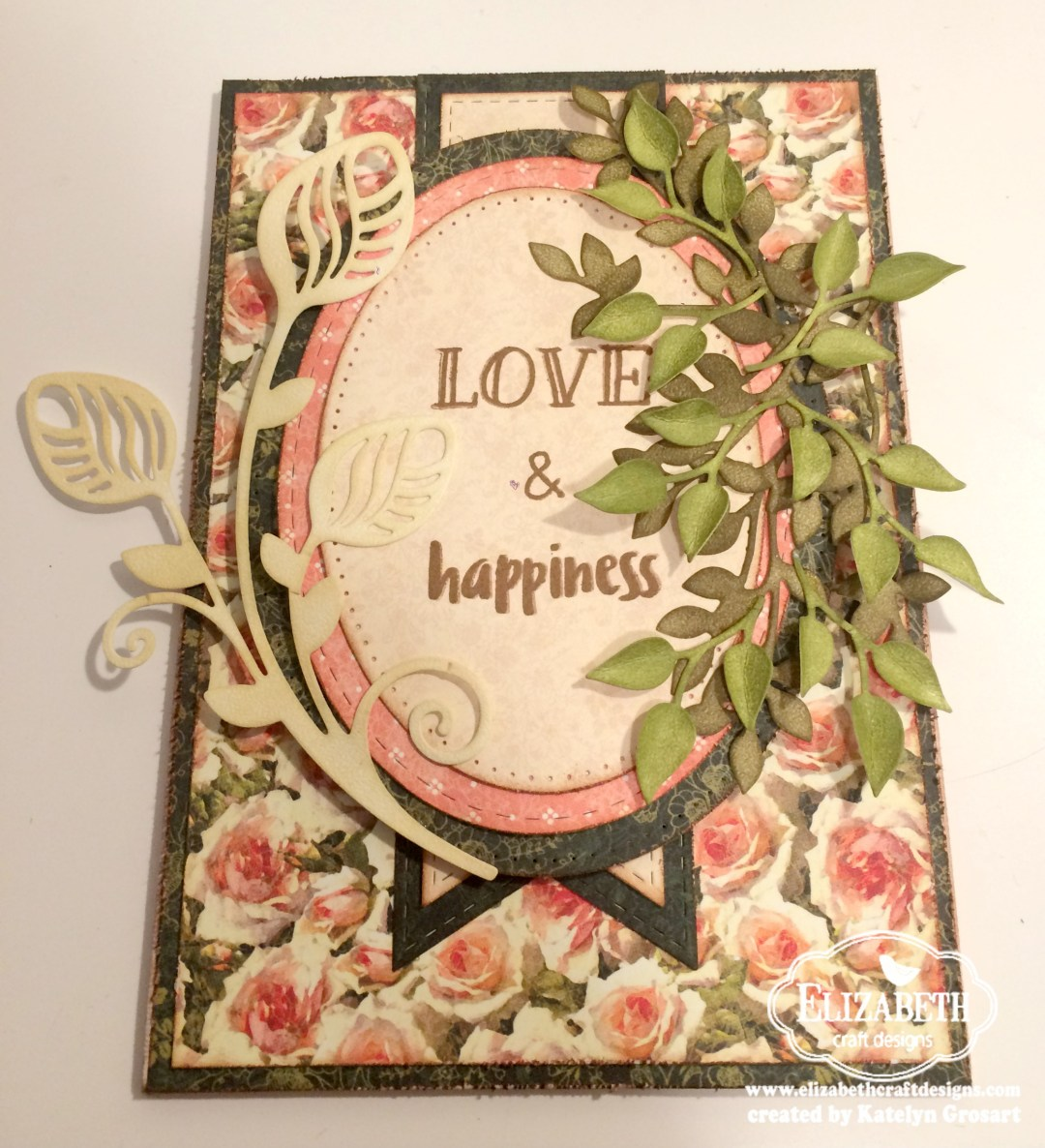 Love & Happiness Wall Hanging