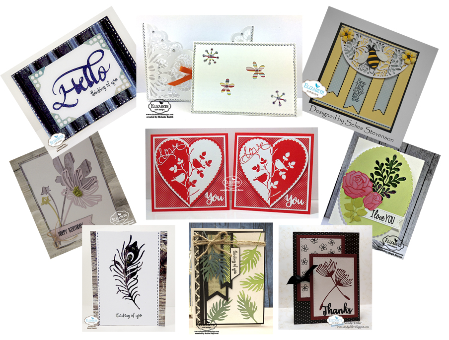 Negative Die Cut Cards May Die Cut Designer Challenge