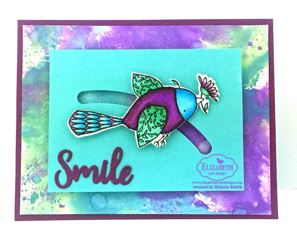 Smile Spinner Card by Melanie Smith