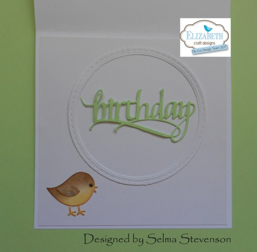 Happy Birthday card by Selma Stevenson
