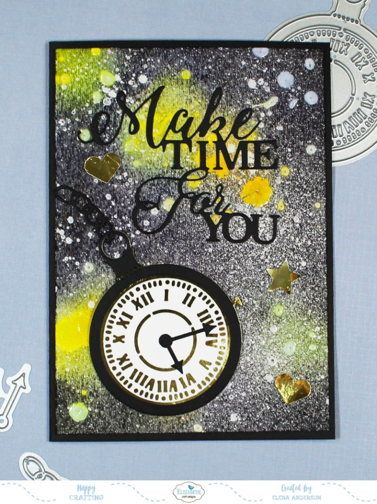 Galaxy Background Father's Day Card