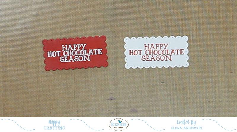 Whimsical Happy Hot Chocolate Season Cards - Step 4