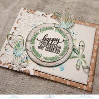 How To Create This Happy Spring Card