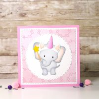 Technique Friday | Unicorn Elephant Card