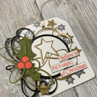 Believe In The Magic Of Christmas Gift Tag