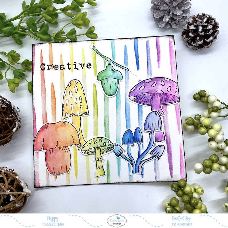 Ek Gorman, Elizabeth Craft Designs, Mushrooms a
