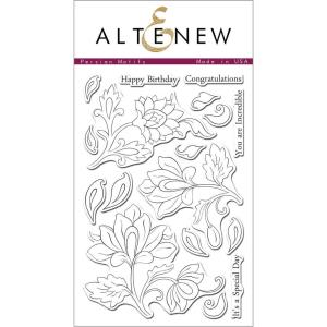 Altenew Clear Stamps, Persian Motifs -
