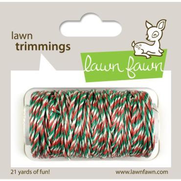 Lawn Fawn Hemp Cord, Mistletoe - 0030915068802