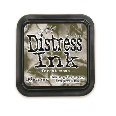 Ranger Distress Ink Pad, Forest Moss - 789541027133