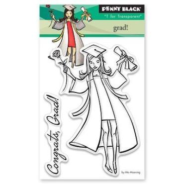 Penny Black Clear Stamps, Grad - 759668304288