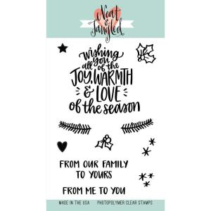 Neat & Tangled Clear Stamps, Wishing You Love - 817360021886