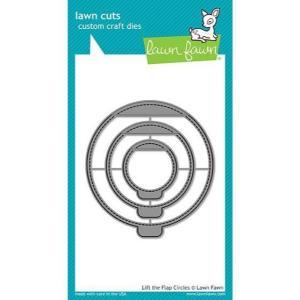 Lawn Cuts Dies, Lift the Flaps Circles - 352926705492