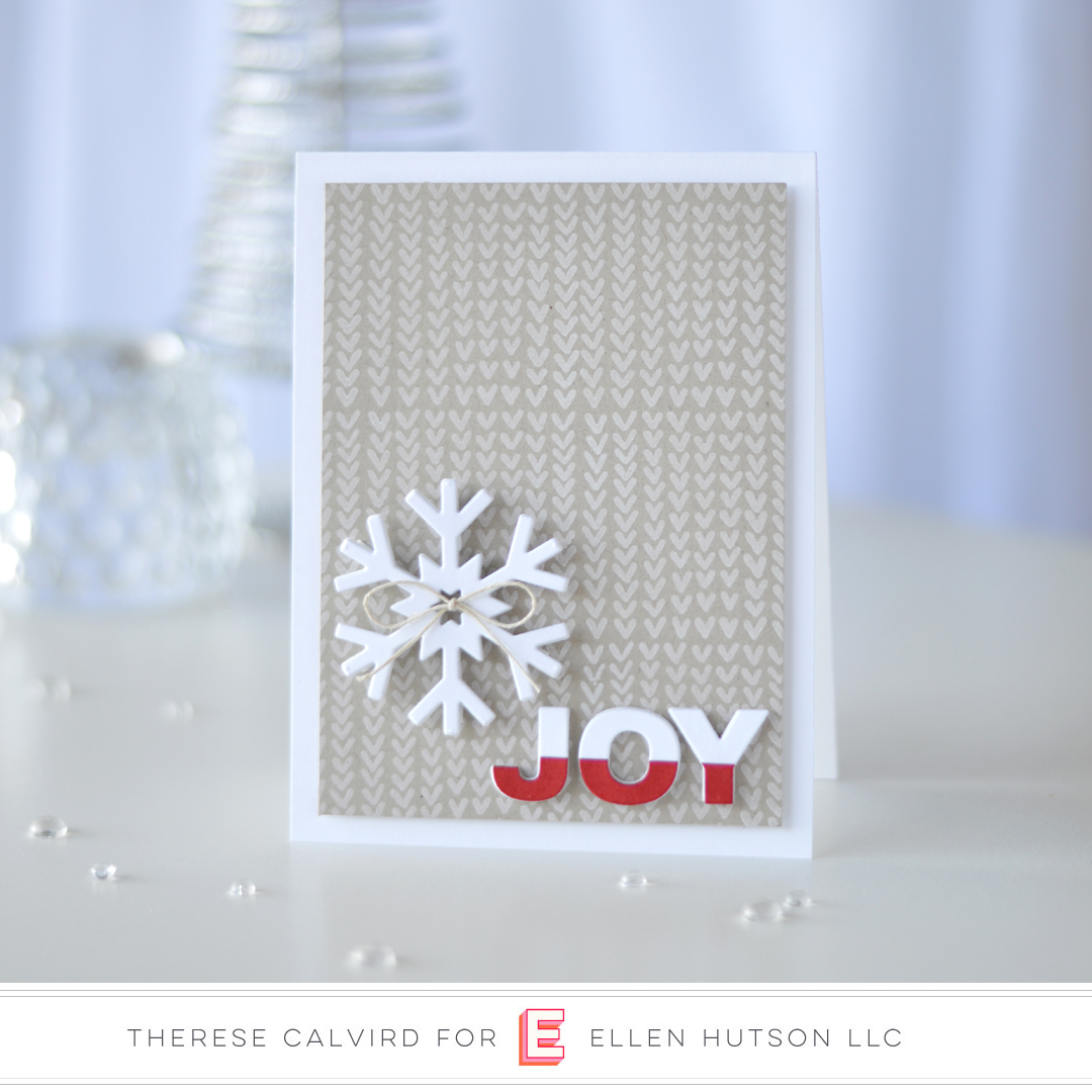 Essentials by Ellen Snow Days card by Therese Calvird