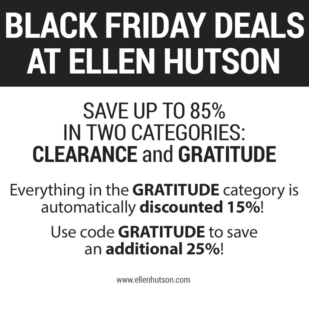 Ellen Hutson LLC Black Friday Sale
