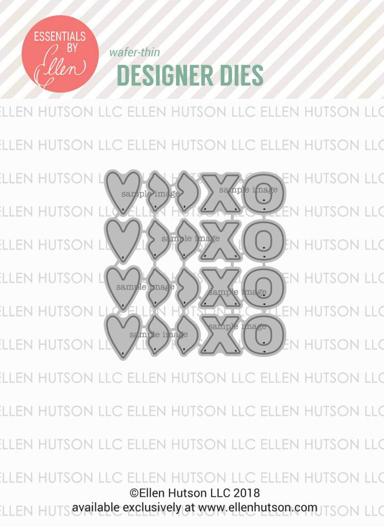 Essentials by Ellen Confetti Kisses die