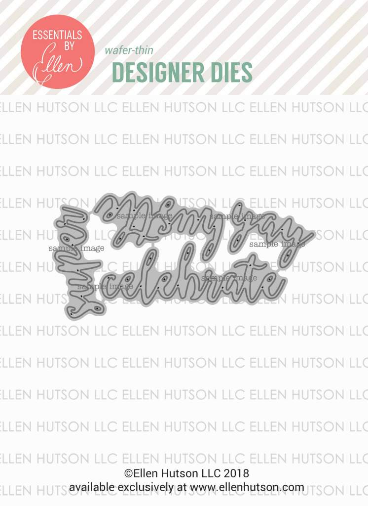 Essentials by Ellen Letterboard Script 1 dies