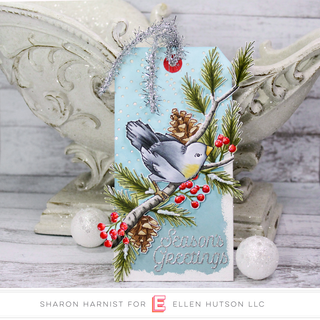 12 Tags of Christmas with a Feminine Twist 2018 – Day 8 with Sharon Harnist and Emily Midgett