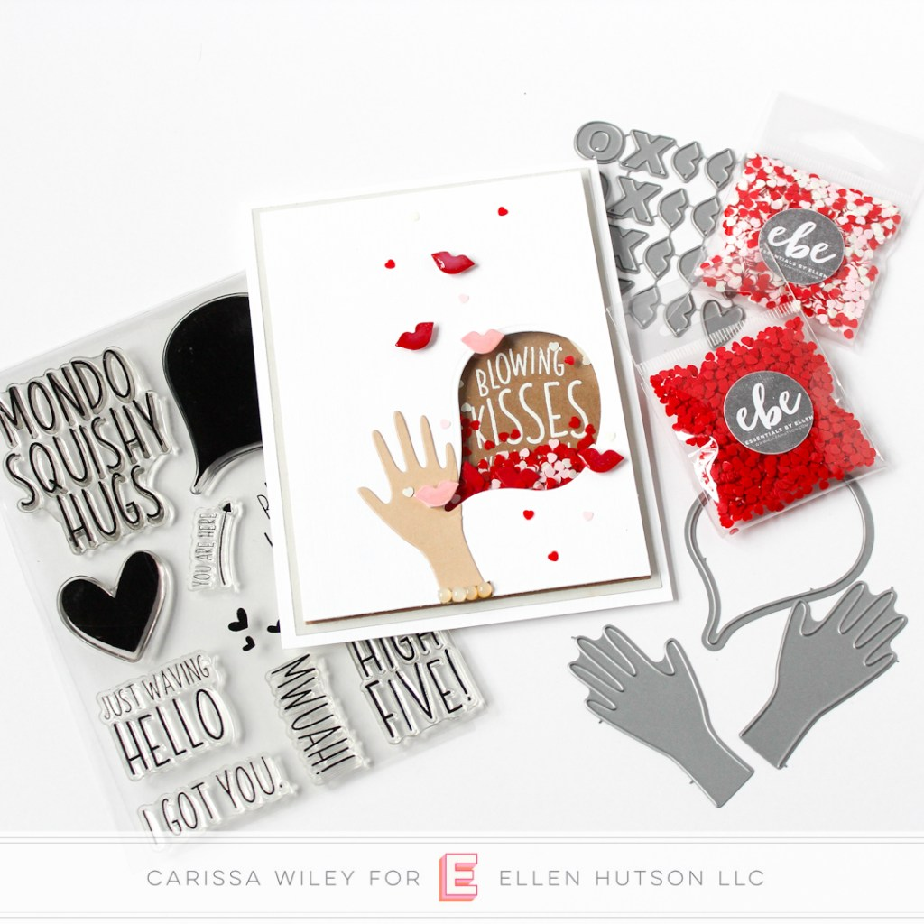 How to make a Valentine's Shaker Card