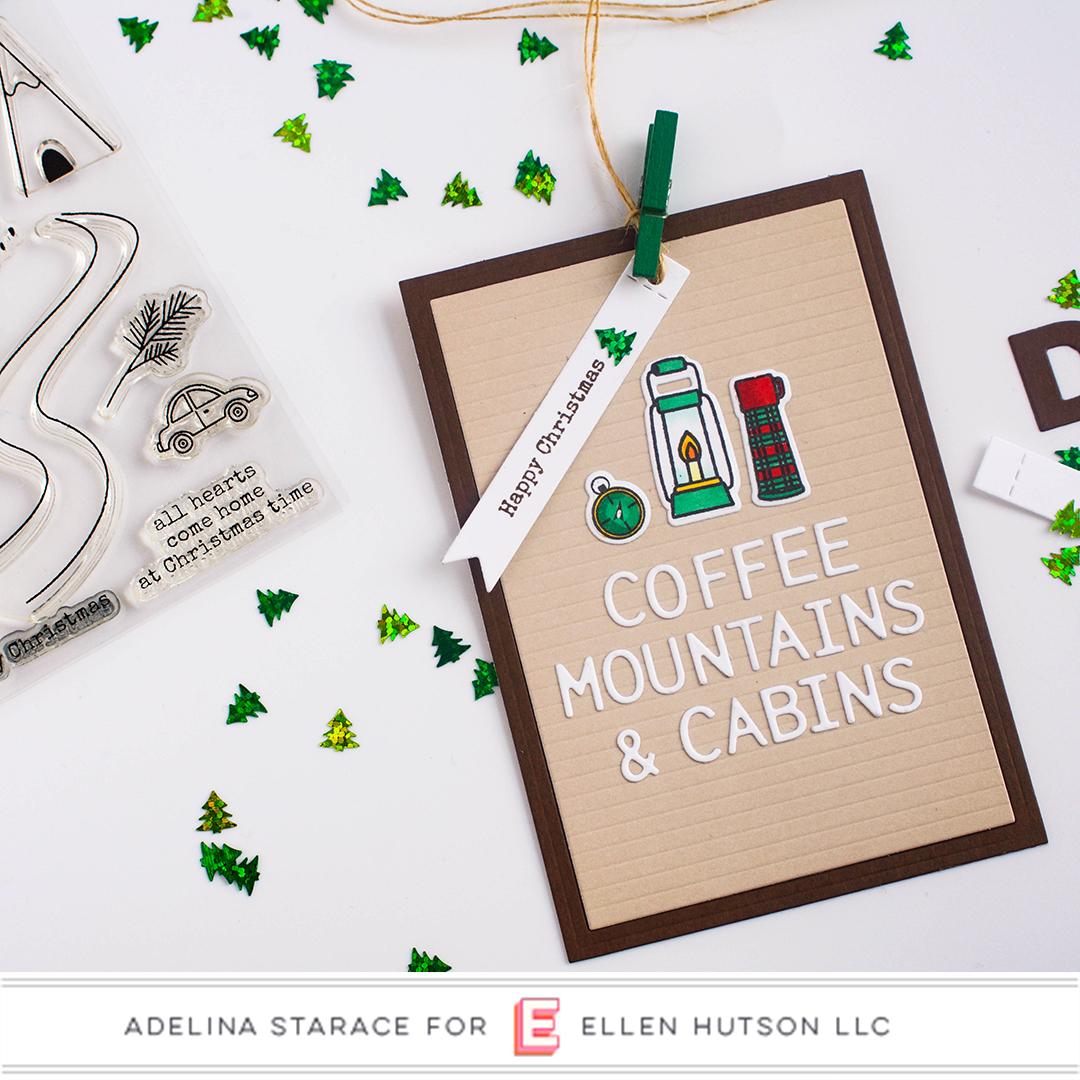 Essentials by Ellen Letterboard card by Adelina Starace