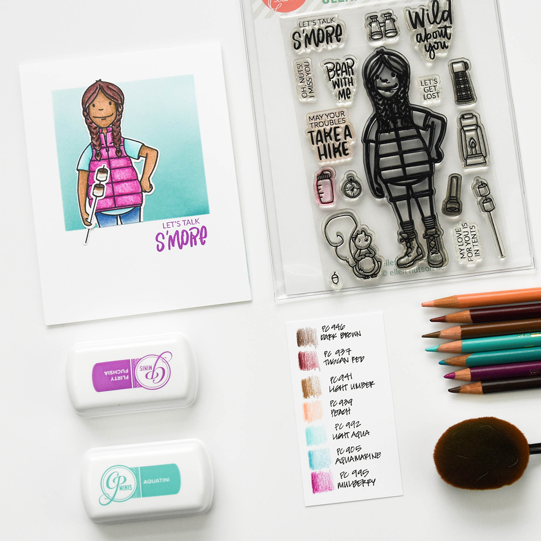 Essentials by Ellen Woodsy Lady Card