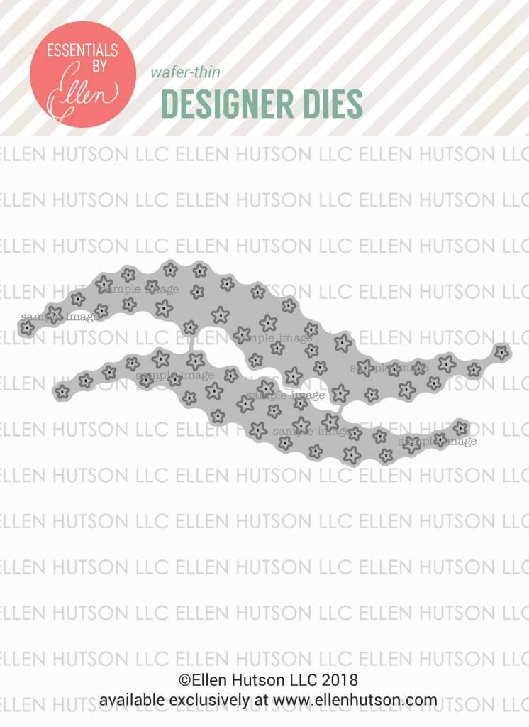 Essentials by Ellen Star Swooshes dies
