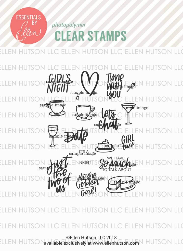 Essentials by Ellen It's A Date stamps