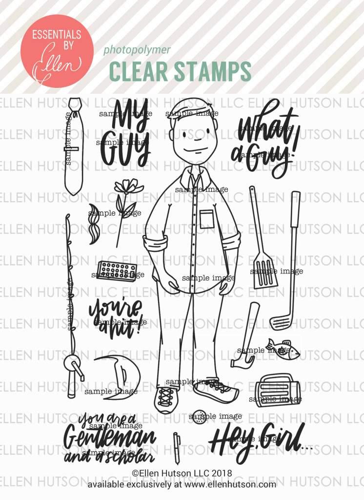 Essentials by Ellen Leading Gentleman Stamps