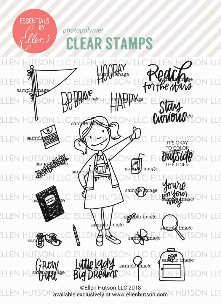 Essentials by Ellen Little Lady stamps
