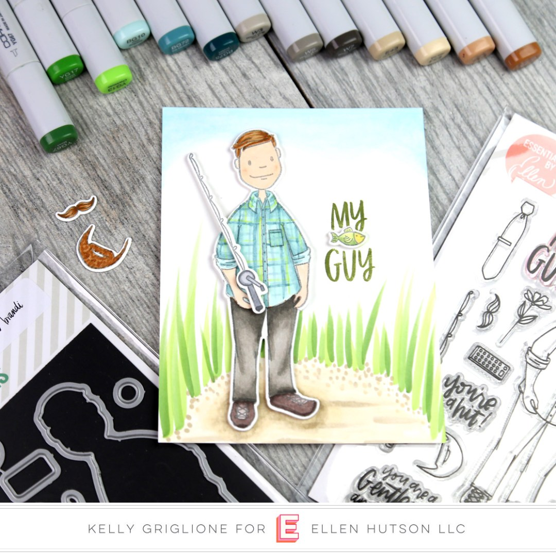 Essentials by Ellen Leading Gentleman card by Kelly Griglione