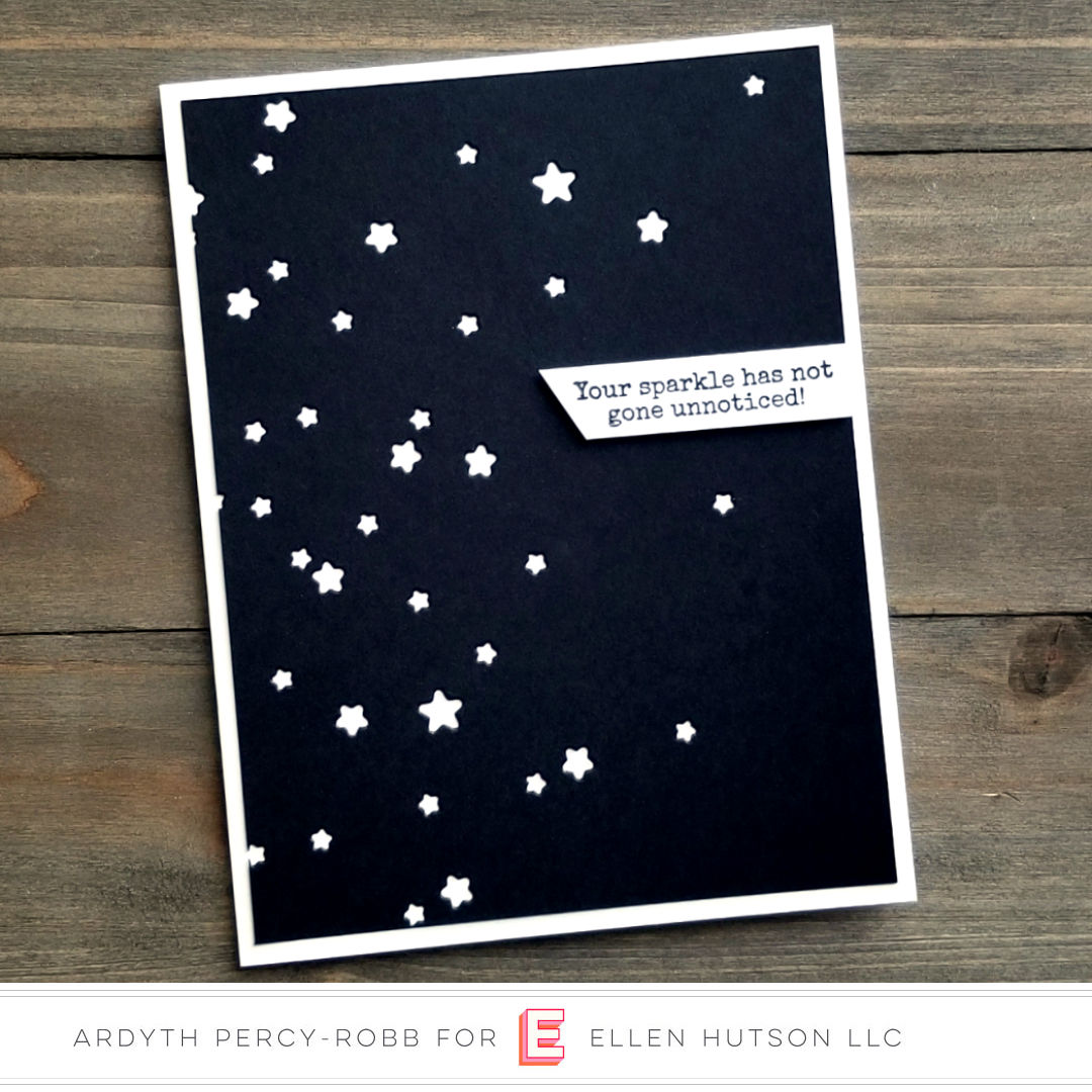 Essentials by Ellen Starry Night card by Ardyth Percy-Robb