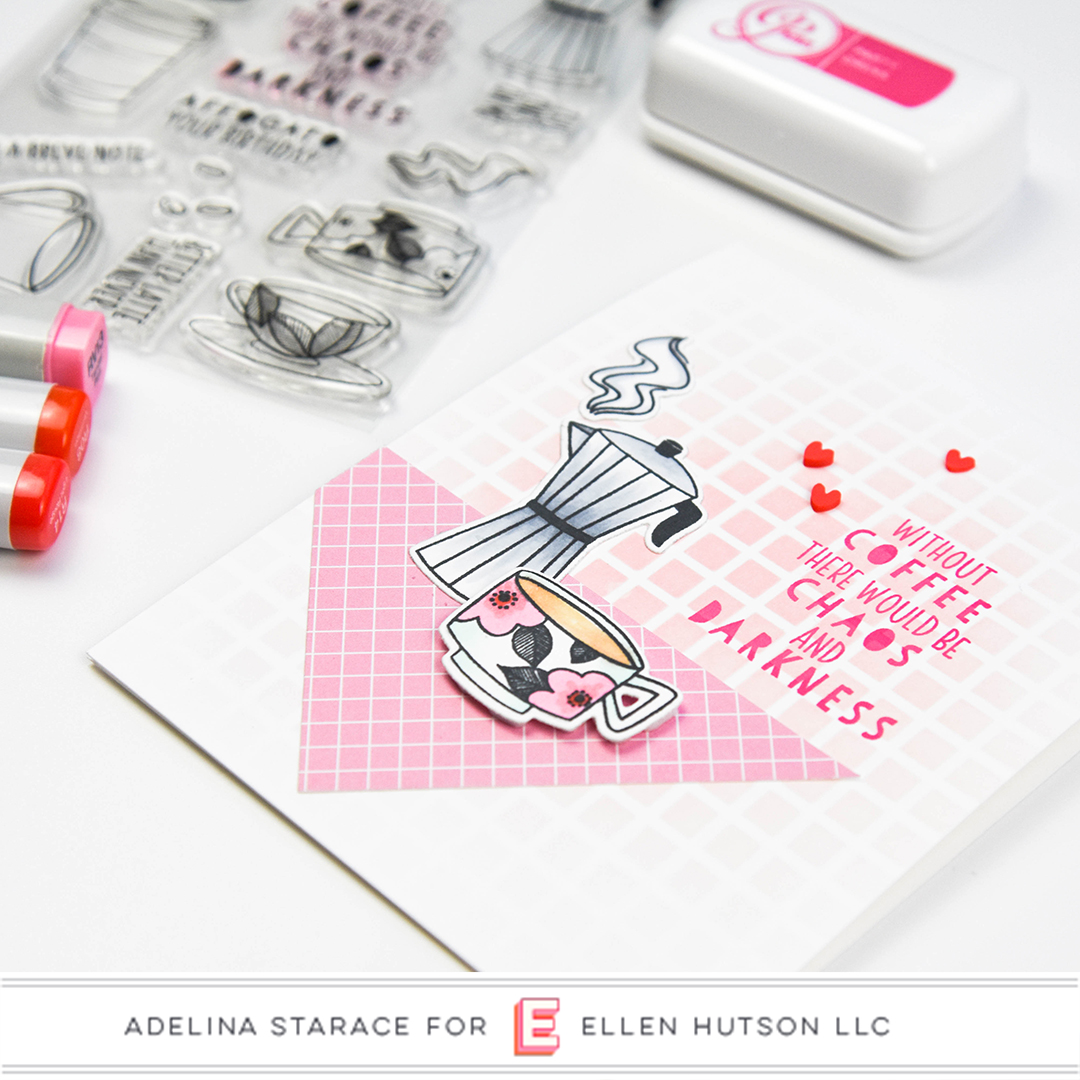 Essentials by Ellen A Breve Note card by Adelina Starace