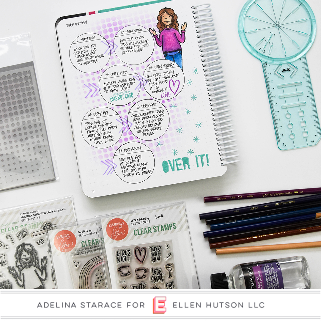 Bullet Journaling with the All In One Journal Tool