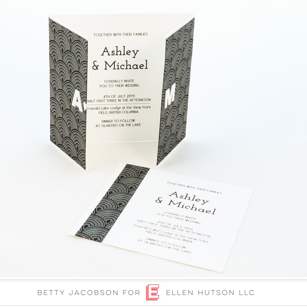 DIY Foiled Wedding Invites with the Gemini Foil Press