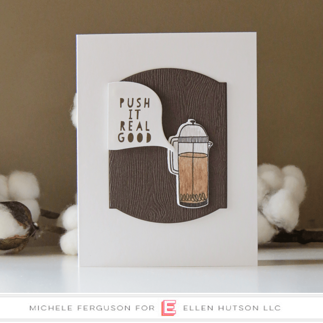 Essentials by Ellen A Breve Note card by Michele Ferguson