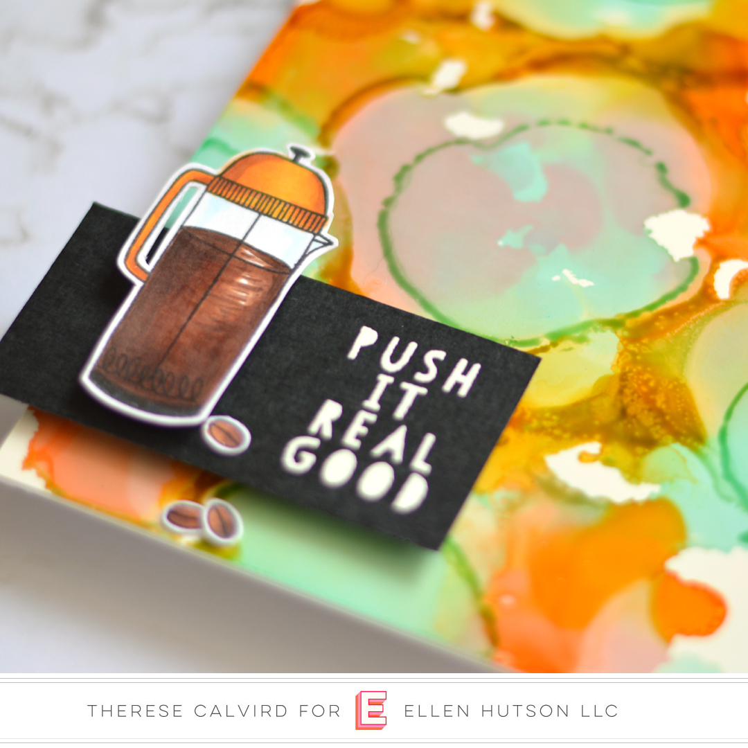 Essentials by Ellen A Breve Note card by Therese Calvird