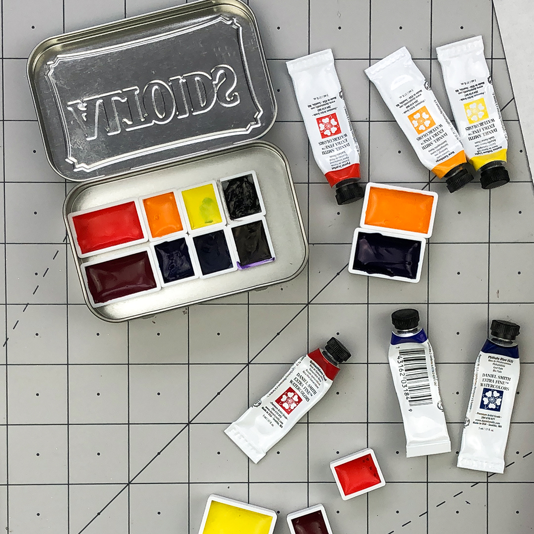 Creating A Travel Watercolor Kit