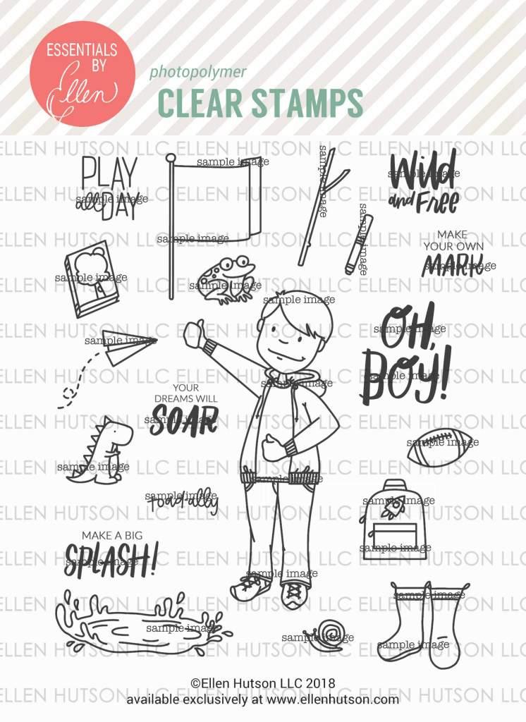 Essentials by Ellen Little Gentleman stamps