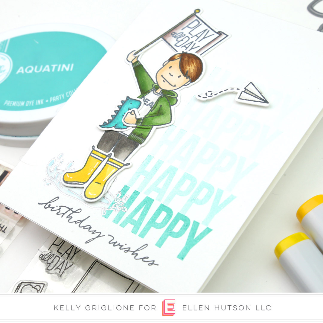 Essentials by Ellen Little Gentleman card by Kelly Griglione